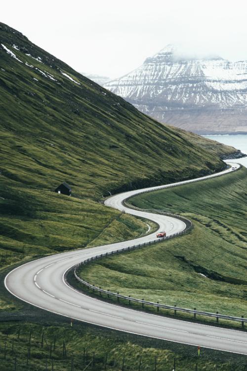 """tulipnight: """" Faroe Islands Commute by Dylan Furst """""""