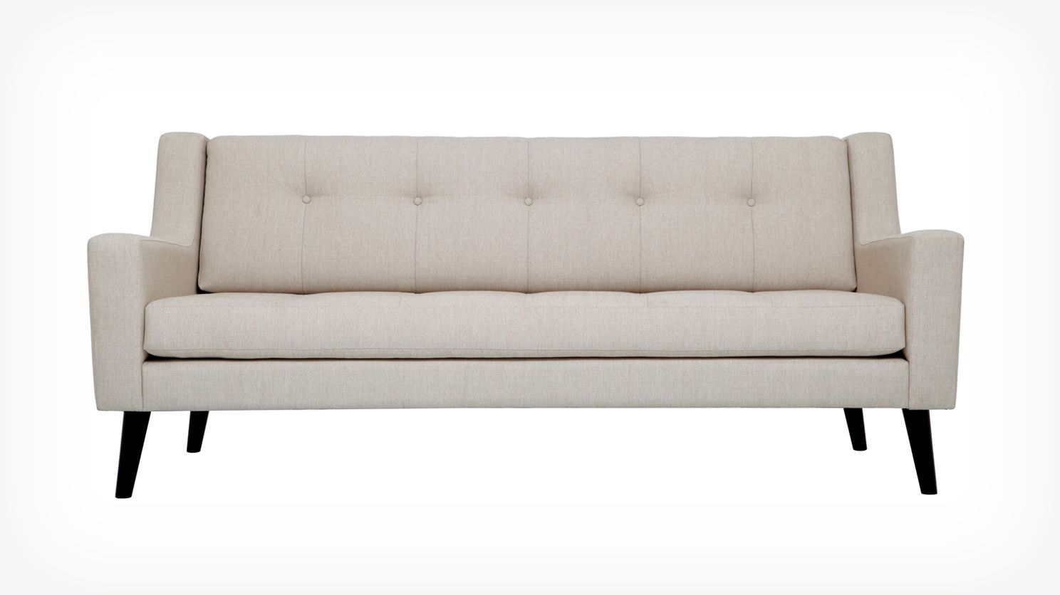 Elise sofa fabric eq3 modern furniture 1399 for Modern furniture nyc