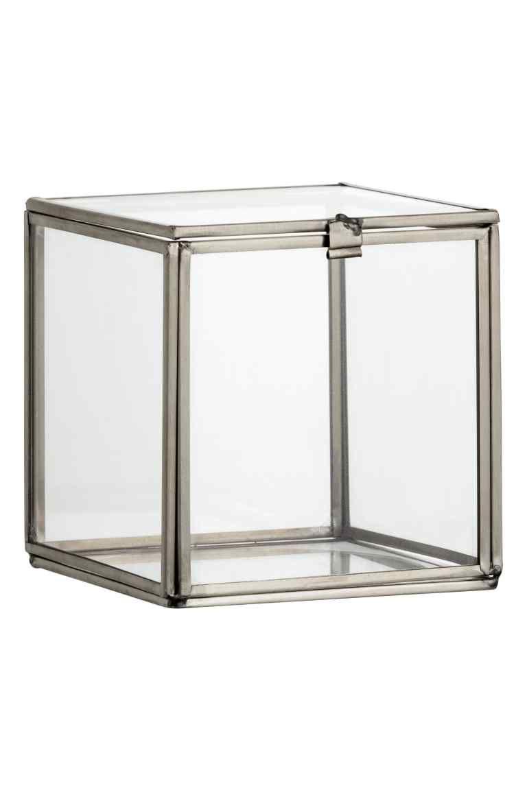 Caja cuadrada de cristal | Pinterest | Marcos de metal, Cajas ...