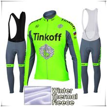 d8aa46a1e 2018 Maillot Ropa Ciclismo Invierno Tinkoff Winter Cycling Jersey Thermal  Fleece Long Sleeve Cycling Clothing Set MTB Bike Wear