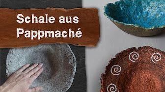 Pulpe Aus Toilettenpapier Pappmache Selber Machen Pappmaschee Rezept Anleitung Pappmasche Youtube Diy Bowl Diy Bowl