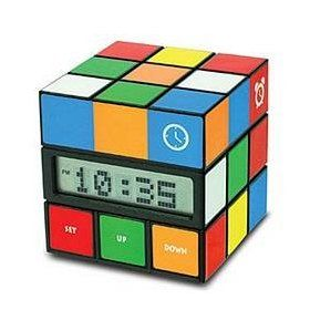 Rubiku0027s Cube Alarm Clock   So You HAVE To Get Out Of Bed Design Ideas