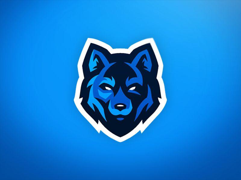 Wolf Mascot Logo Game Logo Design Esports Logo Logo Desing