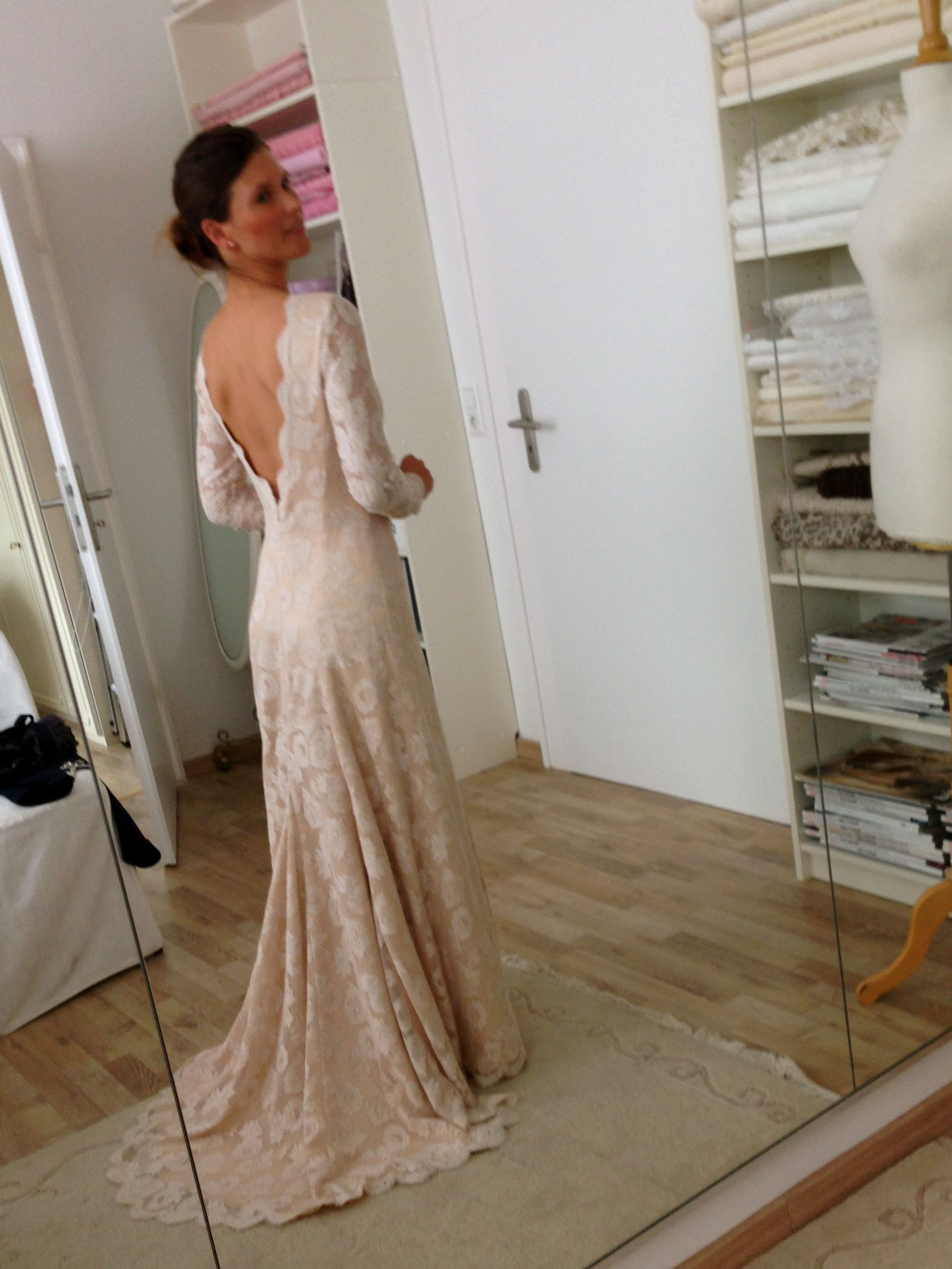 wedding dress, individual design & personal styling, fitting ...