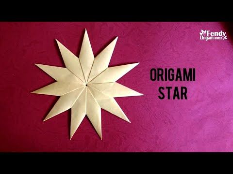 Photo of Origami 11-Point Star/ Paper Modular Star 折纸多角星