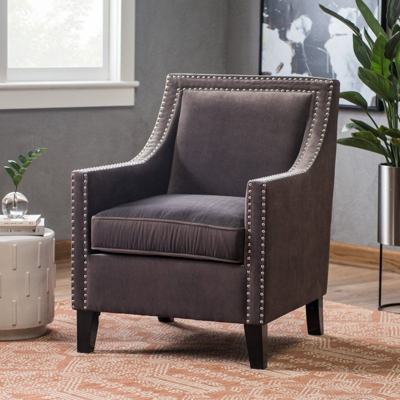 Belham Living Delaney Arm Chair Taupe 2358 Chair