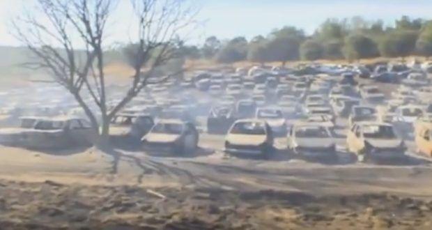 Bei einem Musikfestival in Castelo de Vide, Portugal, brach ein Feuer aus, bei dem 422 Autos völlig ausbrannten und 9 weitere Schäden davon trugen. Die 4000 Anwesenden wurden evakuiert, was verhindert hat, dass auch Menschen zu Schaden kamen. Wie konnte so etwas geschehen und was kann man daraus lernen?