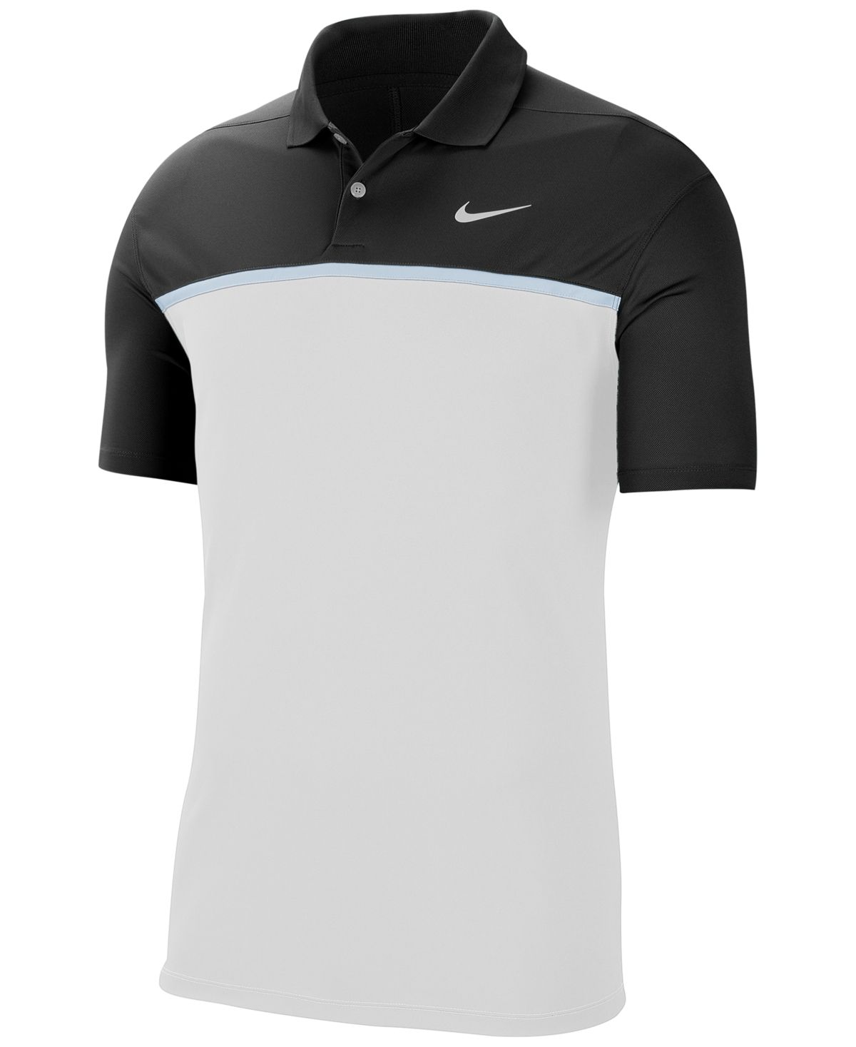 Nike Men's Victory Dri-fit Colorblocked Golf Polo - Black | Mens ...