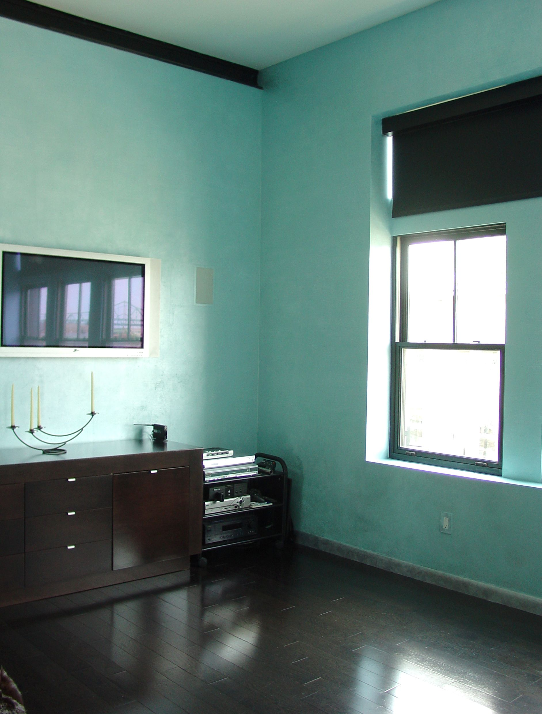Finished Interior Designs In Kerala: Pearlescent Paint For Interior Walls