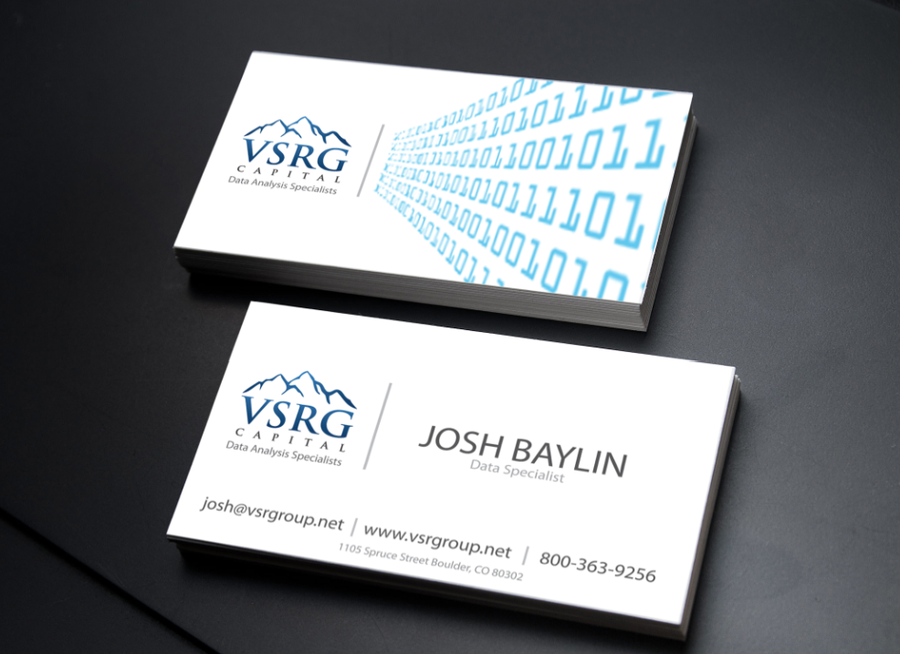 Data Analytics Company Needs Awesome New Business Cards! by Jason ...