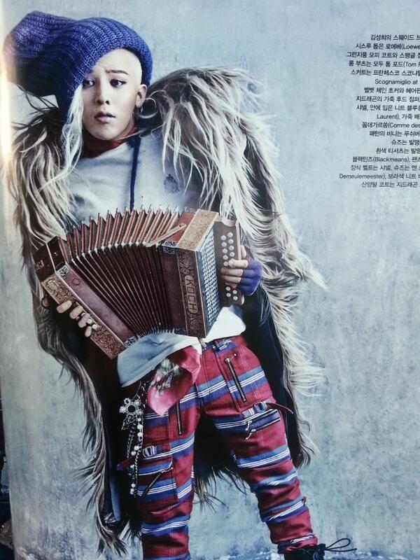 G-Dragon, need I say more?
