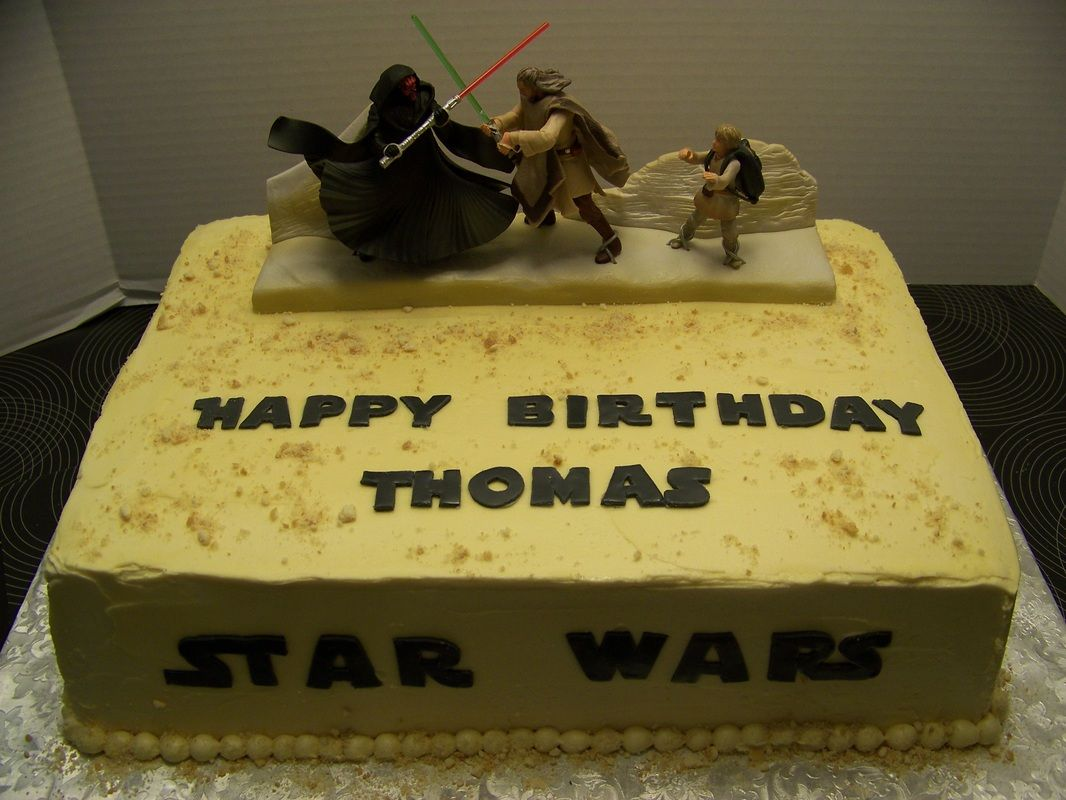 Star Wars Birthday Cake Photo Gallery Peace Cake And Happiness
