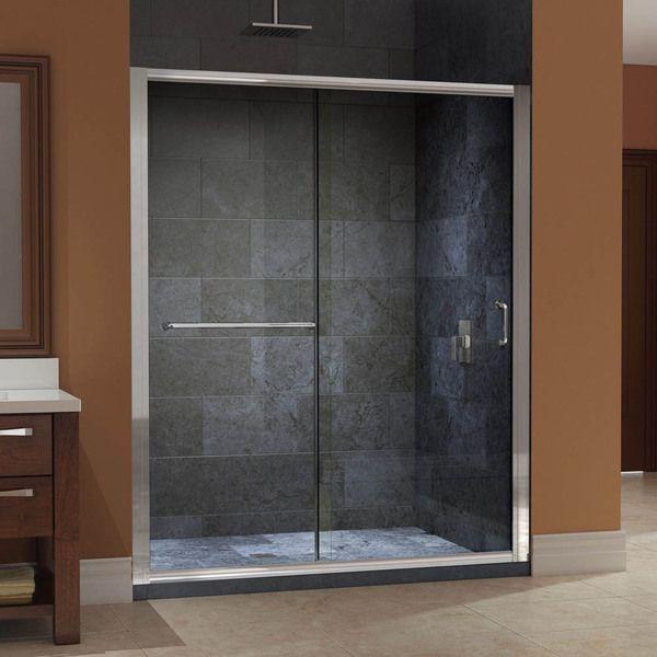 DreamLine Infinity-Z 56 to 60-inch Frameless Sliding Shower Door