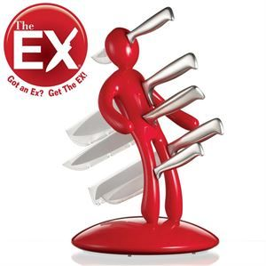 Picture of Voodoo THE EX Stand, Red, Knives stand, …