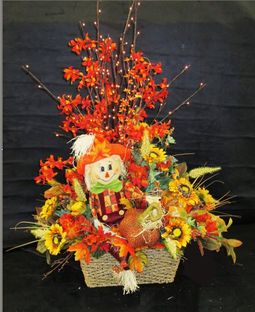 Fall Scarecrow Floral Arrangements Ac Moore Waldorf Md Moore