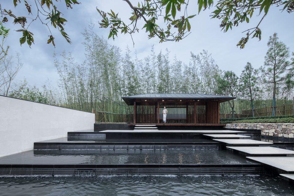 Communication with mountains landscape design china by for Mountain landscape design