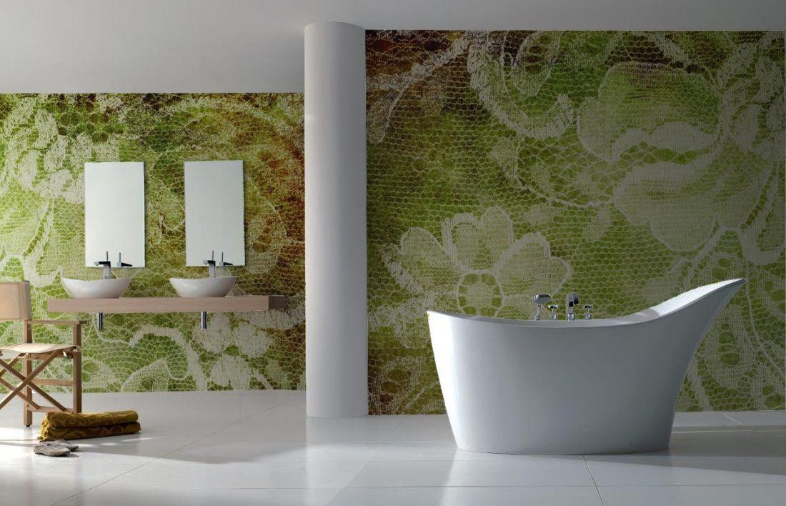 BADKAMER behang | Designwebwinkel | walls ciling and floor ...