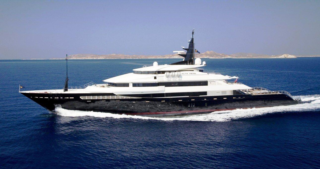 Nirvana yacht charter price oceanco luxury yacht charter - Photos Of Yachts Yacht Alfa Nero Luxury Yacht Charter