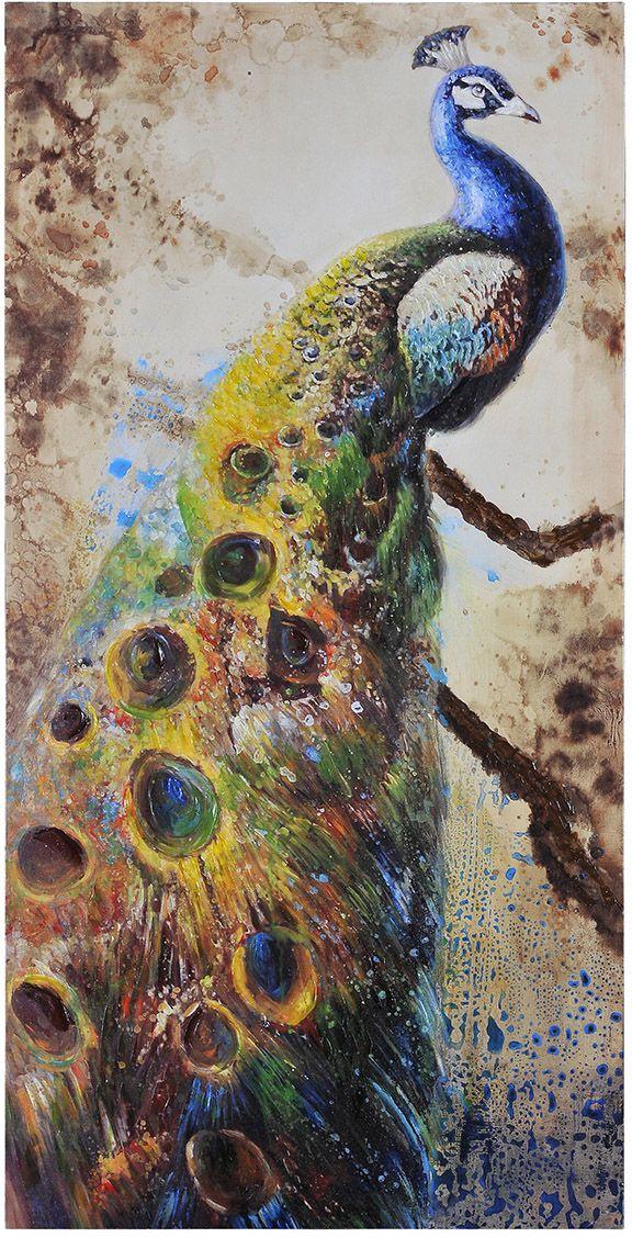Peafowl Toile Painting Prints Canvas Prints Canvas Art