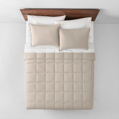 Photo of Alternative down comforter by Natural Solid (Full / Queen) – Made By Design, size …