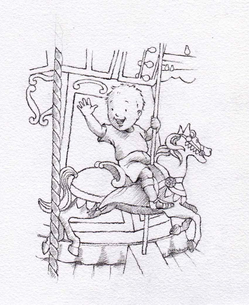 Merry-go-round by Helen Oxenbury