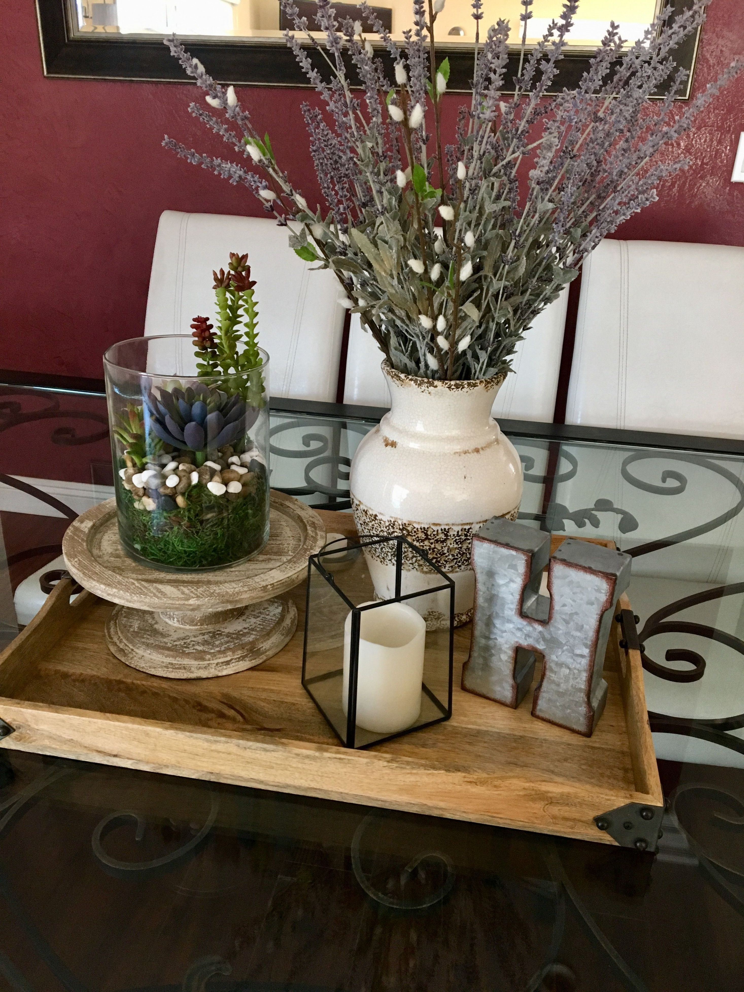 center table decor dining room table