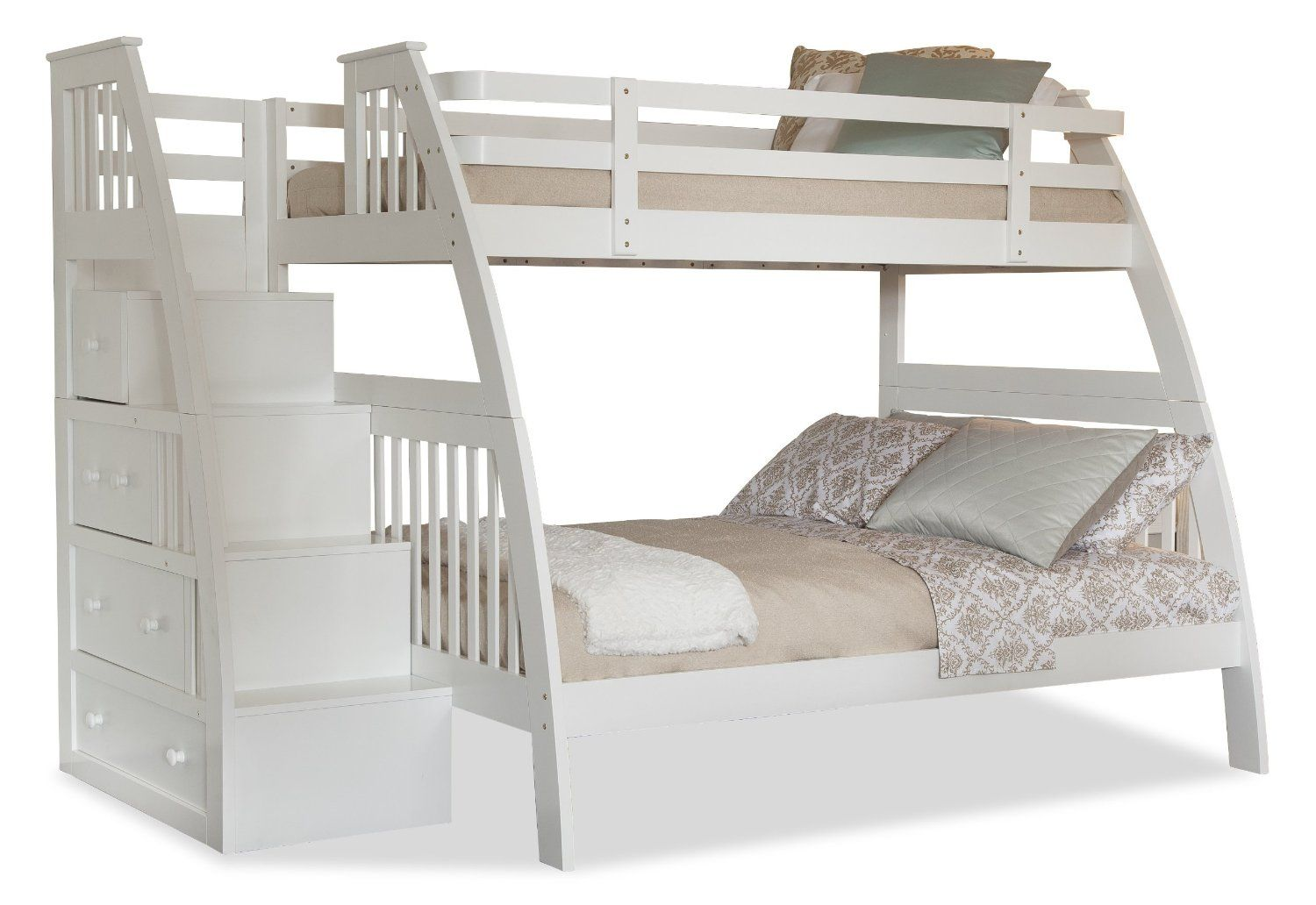 Pin by Tony Bryan on Harper's Room White bunk beds, Bunk