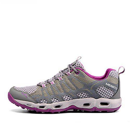 c93562d18b70 MERRTO Womens Outdoor Grey textile Women s Trail Running Shoes Shoes US9      Visit the image link more details.