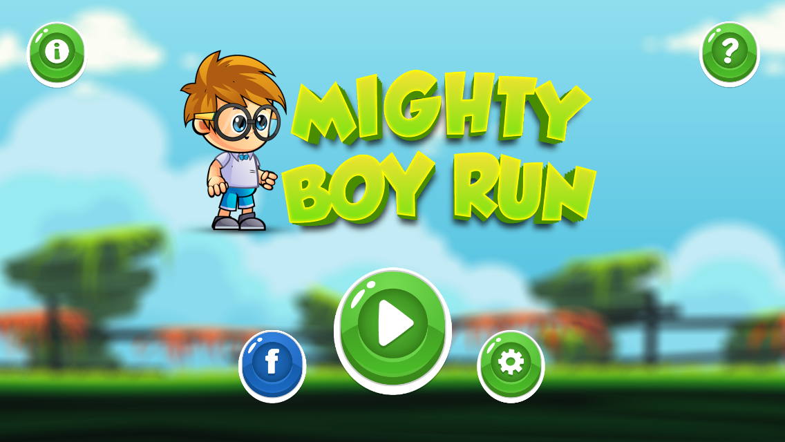 Mighty Boy Run The endless game for All.. Play the game