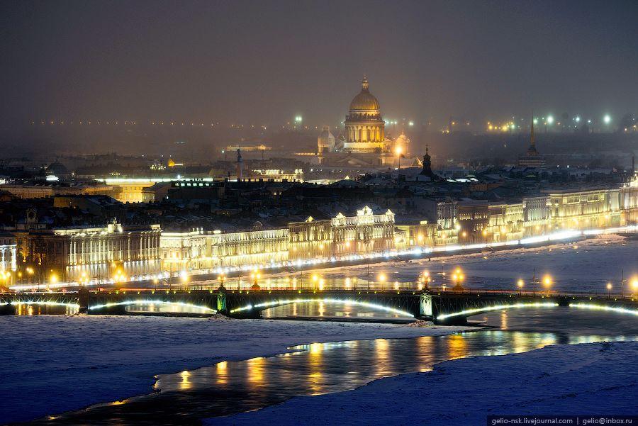 olenenyok: Зимний Санкт-Петербург