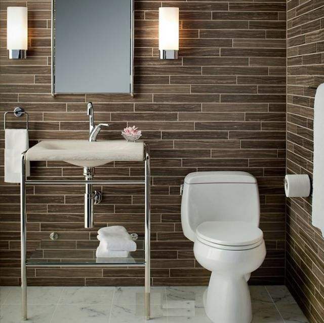 Fliesen Bad Braun: 30 Bathroom Tile Ideas For A Fresh New Look