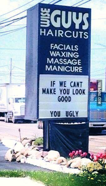 I appreciate the honesty