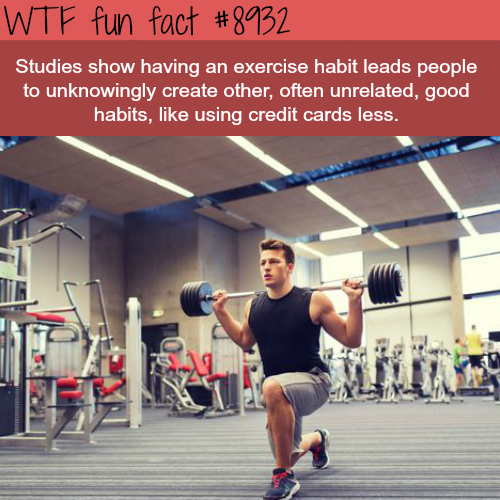 Science Facts Exercise: Exercise Can Lead To Other Good Habits Wtf Fun