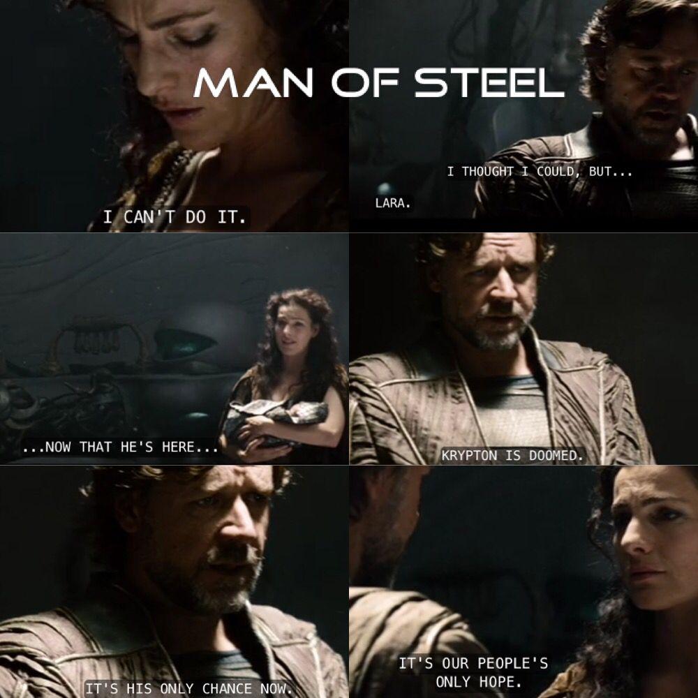 Man Of Steel Quotes Man Of Steel Movie Quotes  Superman  Jor El And Lara El  Movie