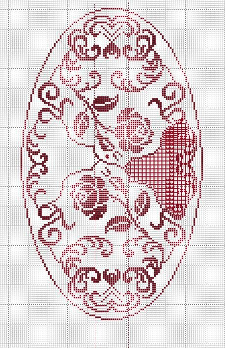 Pin di katalin nagy su filet 1 crochet doilies filet for Pizzi all uncinetto per credenze