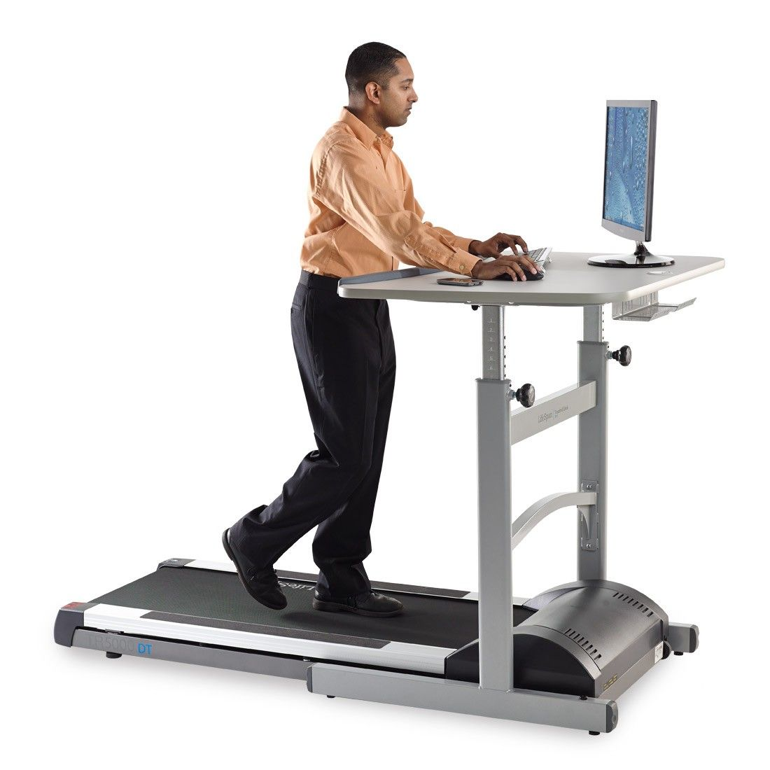Lifespan fitness tr5000dt5 treadmill desk with manual