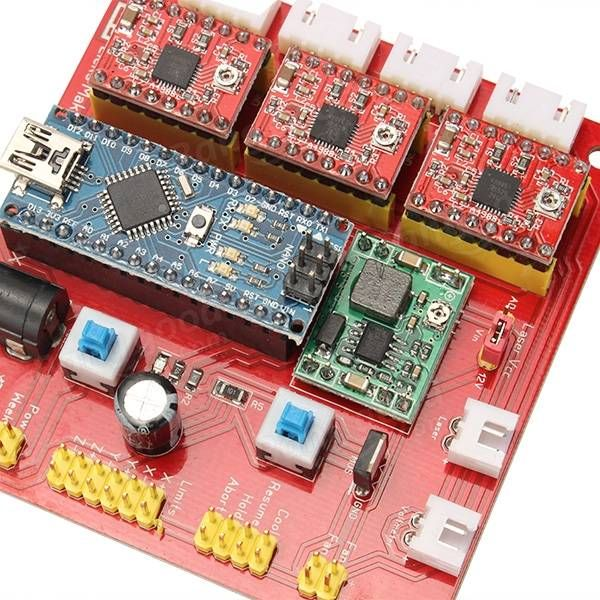 3 Axis Stepper Motor Driver Board Controller Laser board For