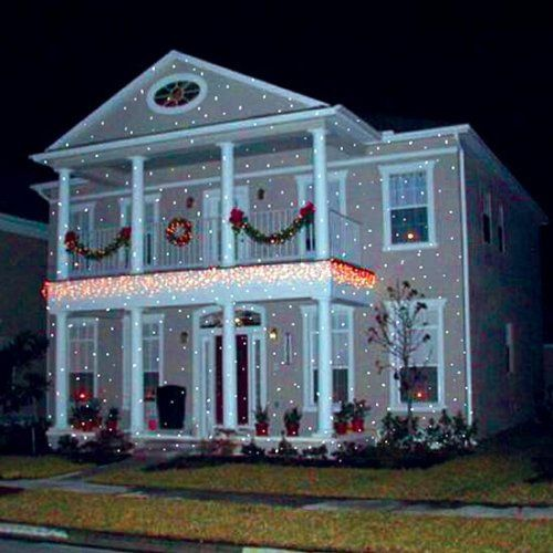 Awesome Christmas Light Projectors And Houses Lit Up Christmas