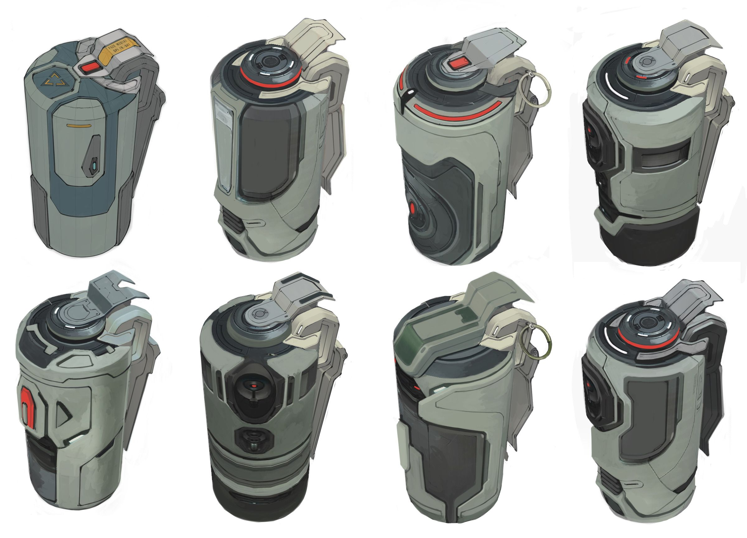 Grenade Sketches                                                                                                                                                      More