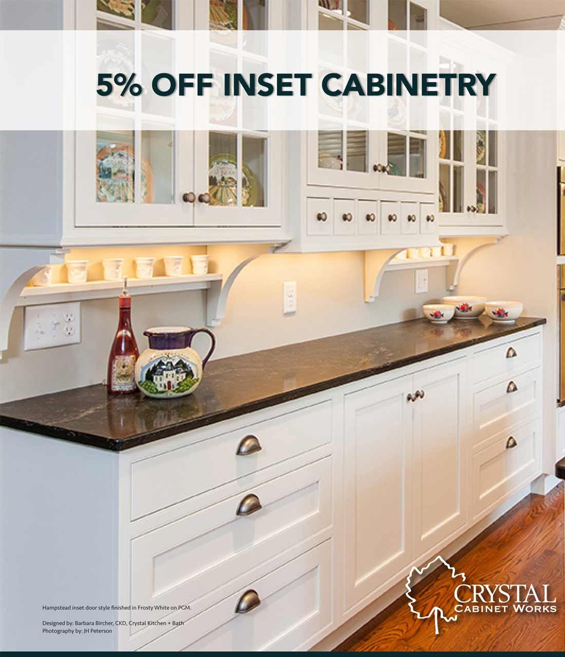 Crystal Cabinetry Promotion On Inset Cabinets Upgrades Denver Castle Rock Co Https W Discount Kitchen Cabinets Free Kitchen Cabinets Kitchen Cabinets Upgrade