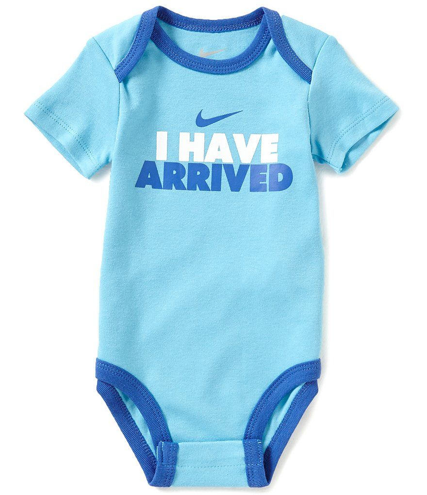 Nike Baby Boys Newborn 12 Months I Have Arrived Bodysuit Baby Boy Clothes Nike Nike Baby Clothes Boys Trendy Suits