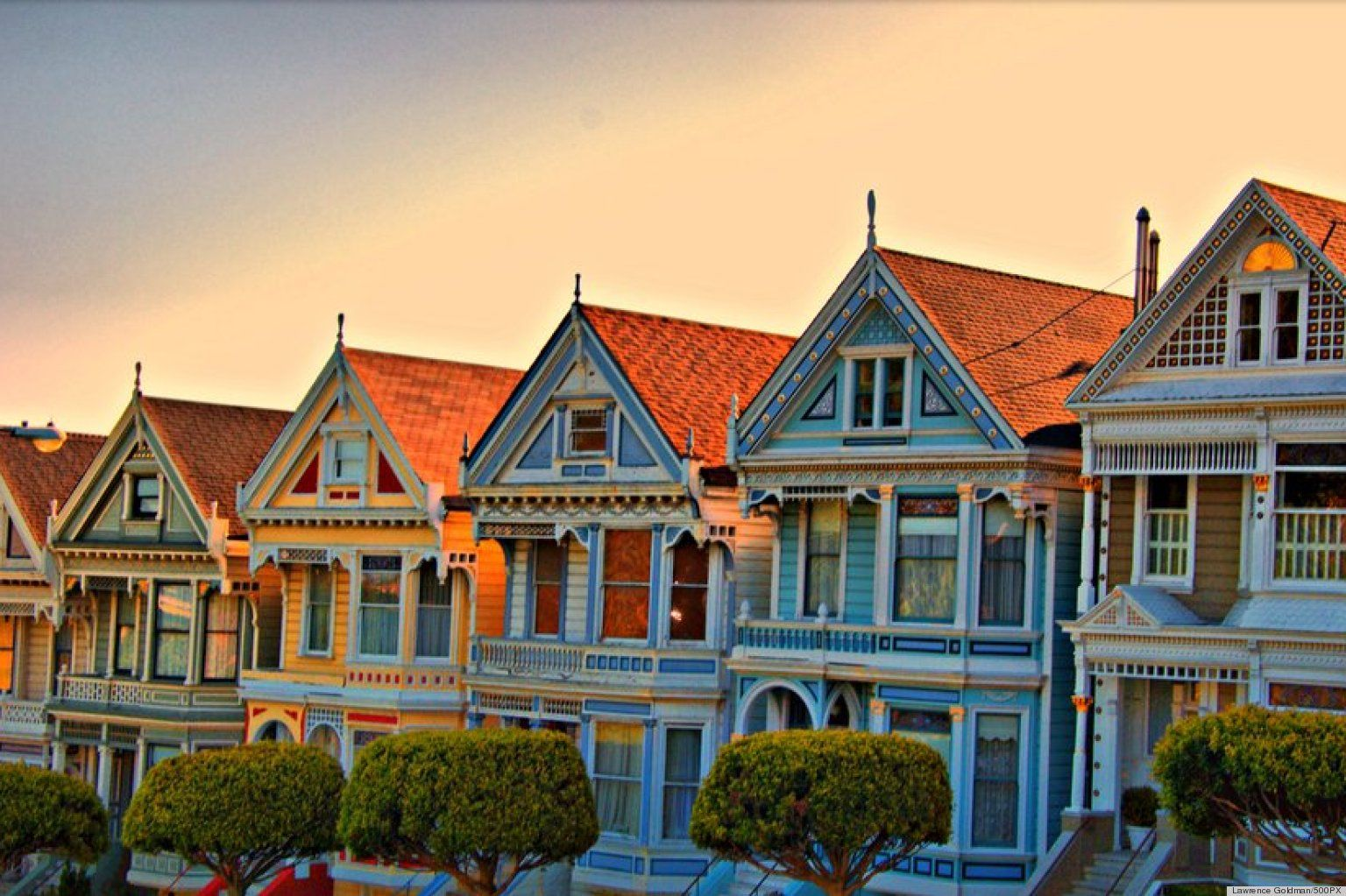 painted ladies san francisco | San Francisco's 'Painted ...