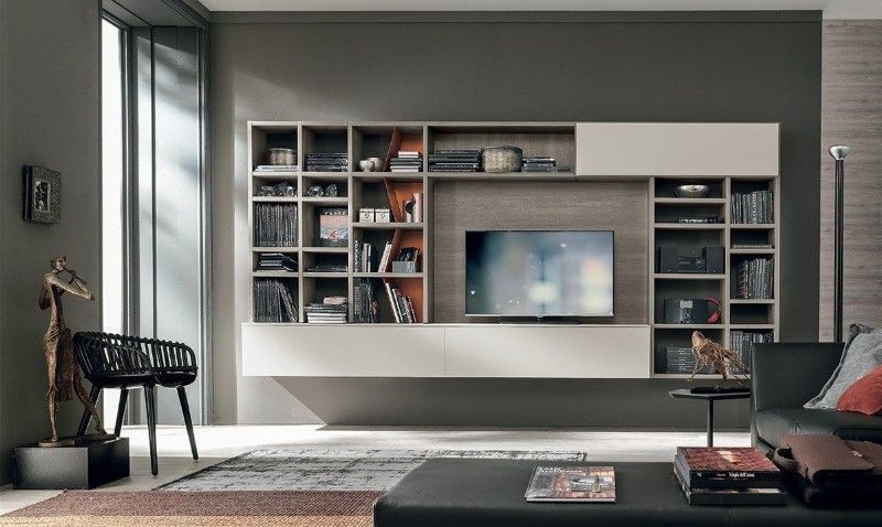 meuble tv bibliotheque design sejour collection meuble tv bibliotheque design italien tomasella