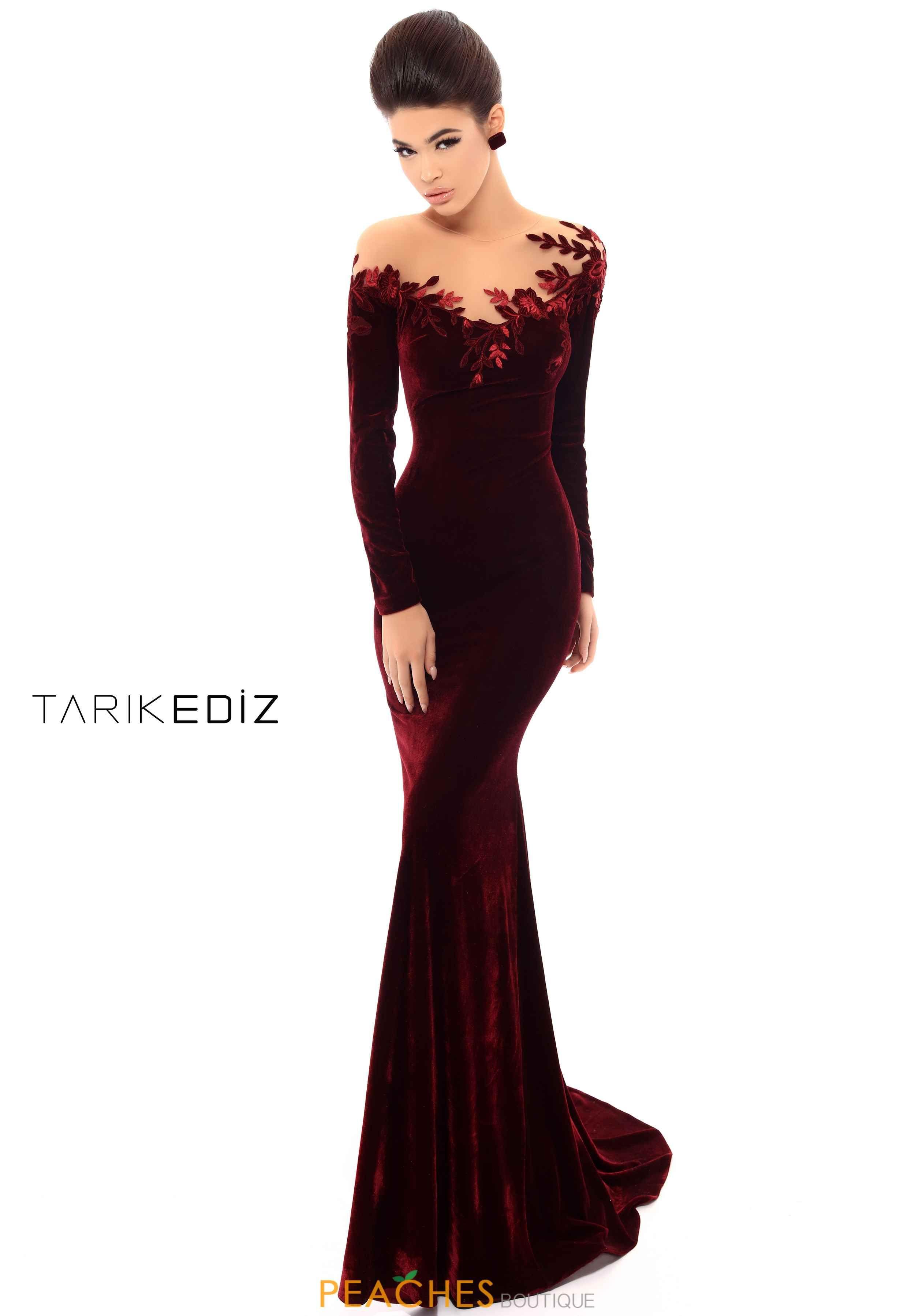 Tarik Ediz Off the Shoulder Dress 13  Kleider, Perlen kleider