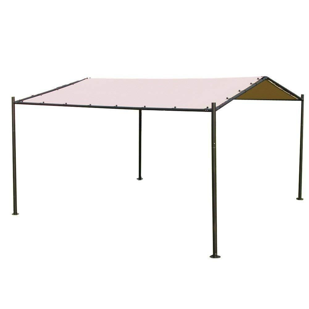 Abba Patio Garden Butterfly Gazebo 13ft X 11 5ft Soft Top Outdoor Canopy Beige Thrifteesdeal In 2020 Canopy Outdoor Gazebo Garden Gazebo