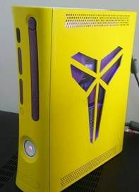 Custom Xbox 360 Rgh Jasper Kobe Bryant Custom Xbox 360 Rgh