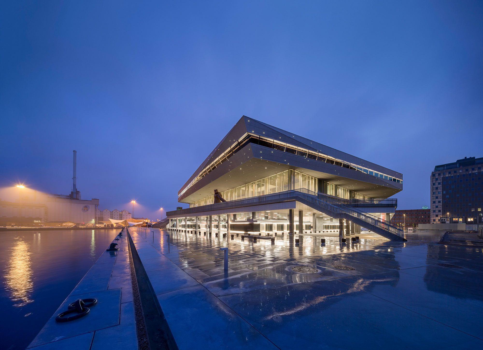 Skandinaviens gr te bibliothek dokk1 von schmidt hammer lassen in aarhus er ffnet - Architecture moderne residentielle schmidt lepper ...