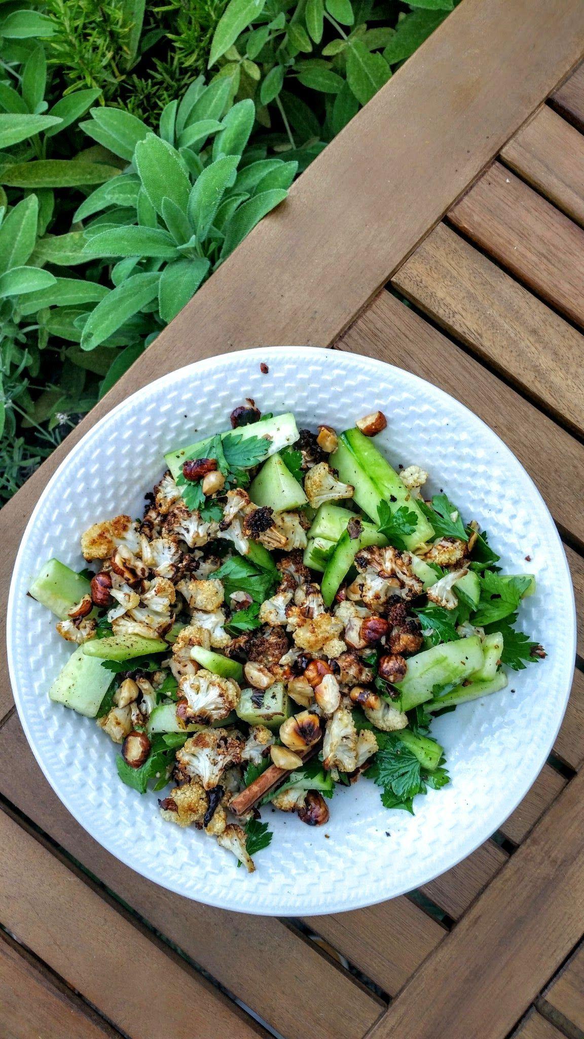 Roasted Cauliflower Salad from Yotam Ottolenghi