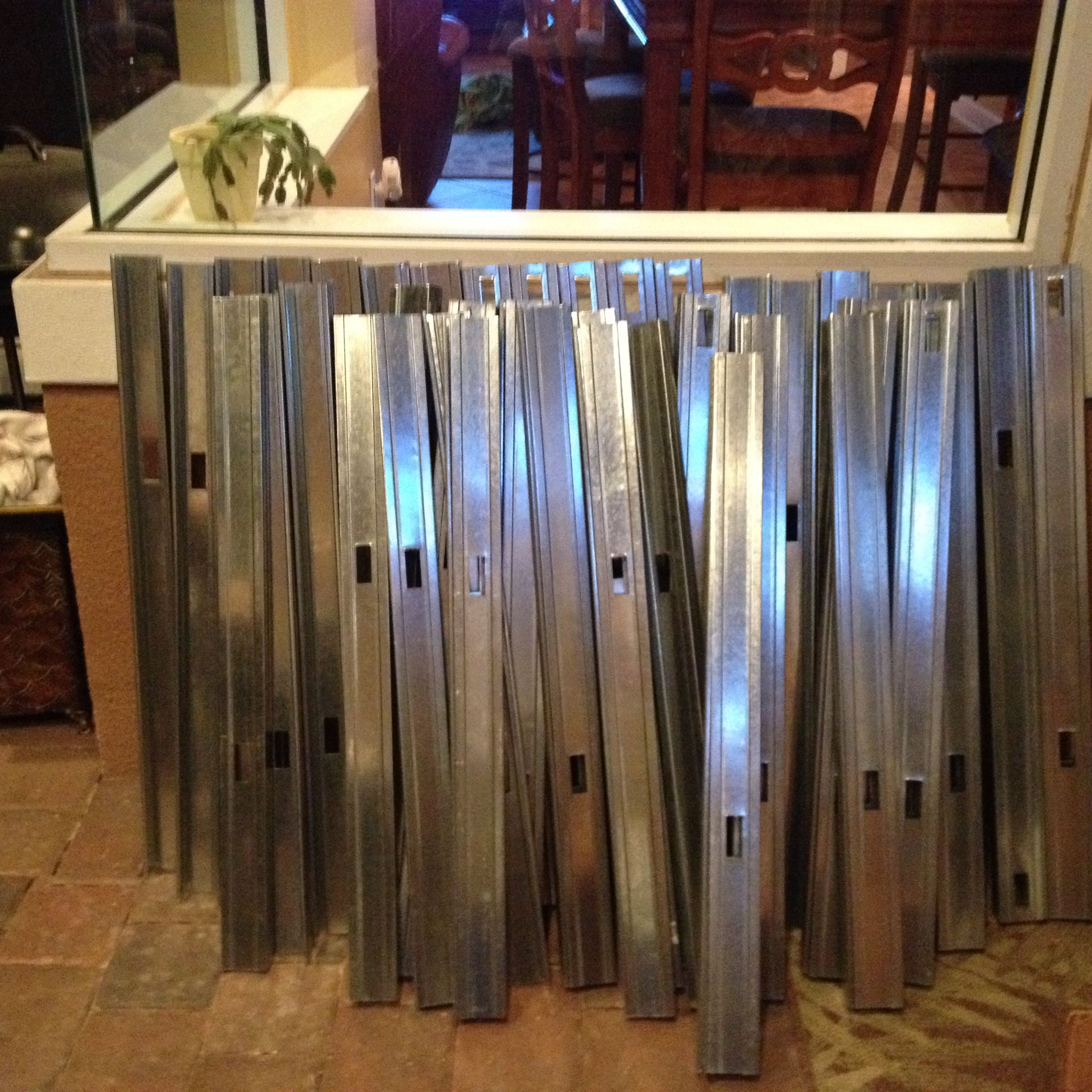 25 Gauge Steel Studs Used To Build 4 Modules For Island Outdoor Bbq Bbq Island Kitchen Projects