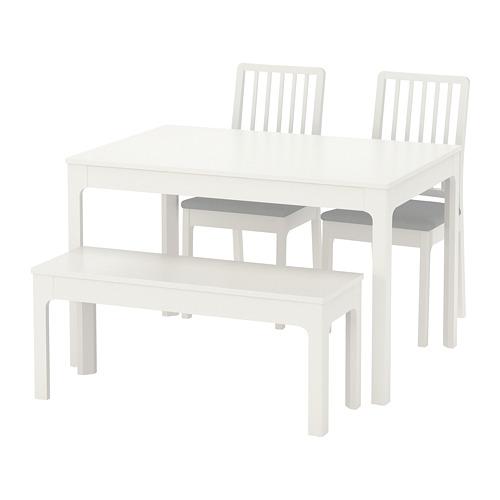 Ekedalen ekedalen tisch 2 st hle bank ikea wohnzimmer pinterest tisch esstisch und - Esszimmermobel ikea ...